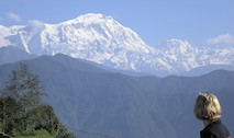 View of the Annapurna from Sarangkot