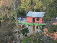 The new guest house on our farm in Sarangkot