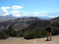 ... or join me for a trek into the Upper Mustang